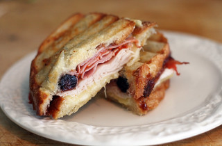 Turkey, Fig & Capicola Panini | by rachel is coconut&lime