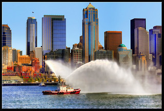 Seattle Fireboat | by edpuskas