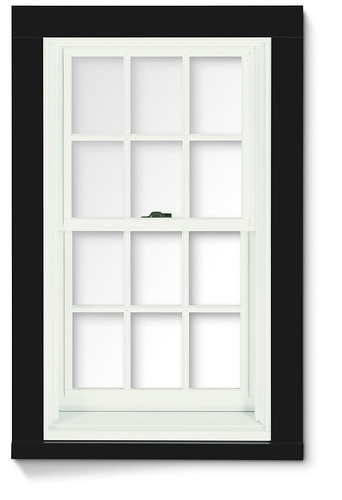 400 Series Double Hung Window With Exterior Trim 400