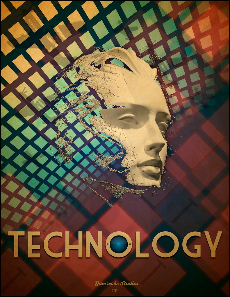 Technology Poster | Period poster created in Pixelmator ...
