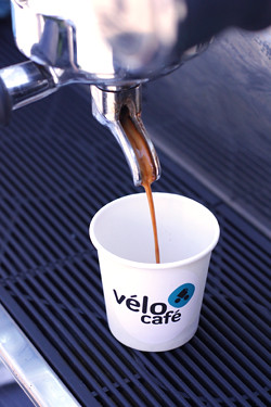 velo cafe espresso | by David Lebovitz