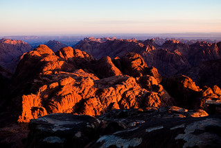 Sunrise over Mount Sinai | by tom chandler