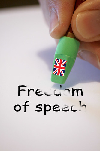Freedom of Speech UK style | by Alan Cleaver