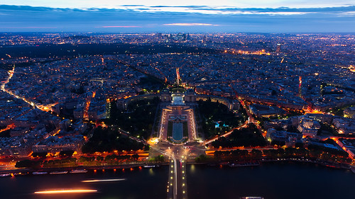 Paris' Night, From Eiffel Tower | by jiazi