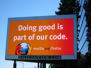 Doing good is part of our code. | by fligtar