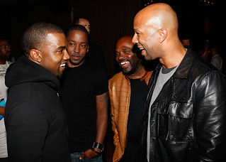 (EXCLUSIVE COVERAGE) Kanye West and Common attend Common's Surprise Birthday Party at The Redbury Hotel on March 13, 2011 in Hollywood, California. | by North_Mr