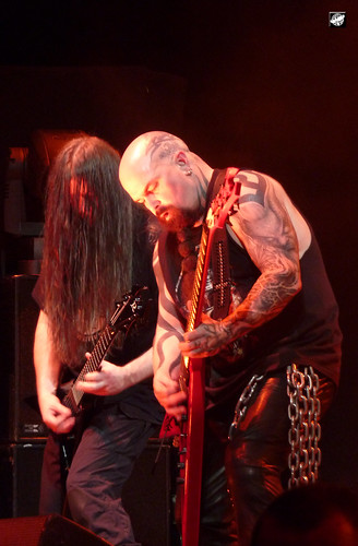 Slayer - Pat O'Brian (stand in) and Kerry King | by The Crow2