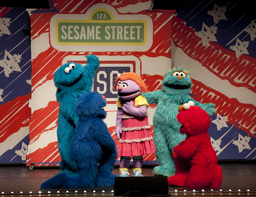 April 14, 2011 — Sesame Street/USO Experience for Military Families | by The USO