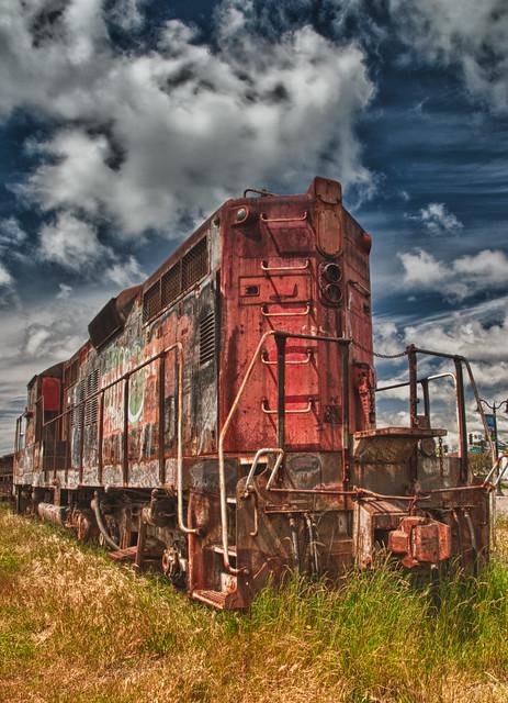 Painted Engine
