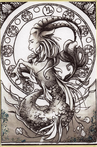 Postcard - Horoscope | by Ursula the Sea Witch