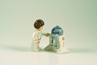 Leia and Artoo | by mikepirnat