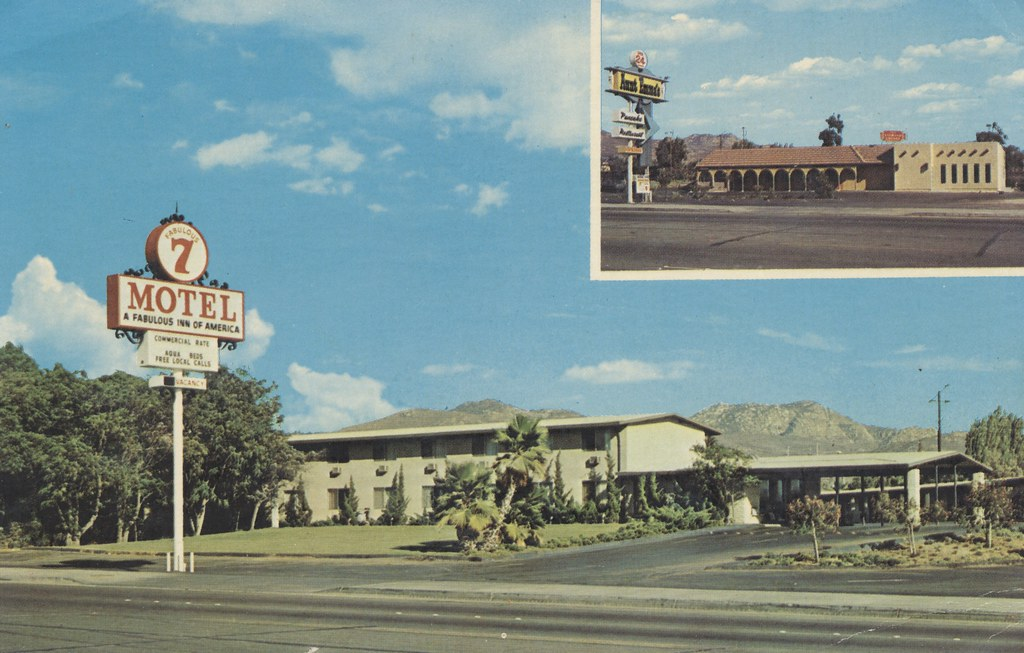 Fabulous 7 Motel - El Cajon, California