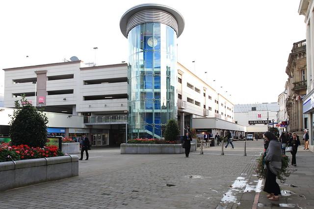 Blackburn shopping centre