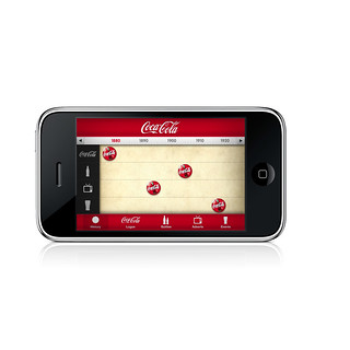 Coke iPhone App | by Punkyduck