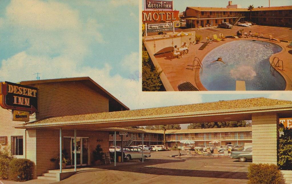 Desert Inn Motel - San Bernadino, California