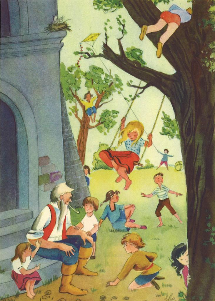Märchenbuch / Der selbstsüchtige Riese Bild 04 | Märchenbuch… | Flickr