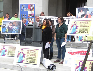 CA Domestic Workers Rally in Sacramento 04-13-11 | by Jobs With Justice