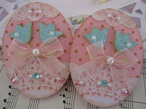 Easter Egg Embellishments | by vsroses.com
