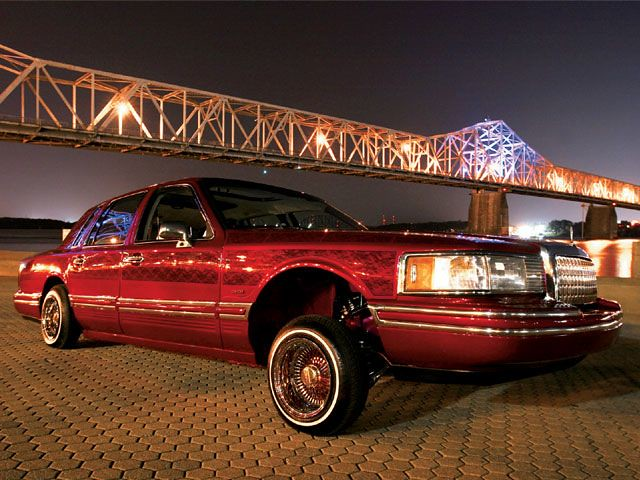1994 Lincoln Town Car Lowrider Jaw Propper Jaw Dropper O Flickr
