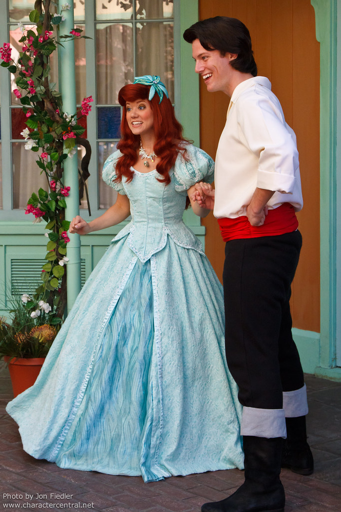 WDW April 2011 - Ariel and Prince Eric meet their fans in … | Flickr