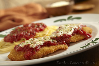 Chicken Parmigiana Parmesan Breaded Chicken Breasts Topped Flickr
