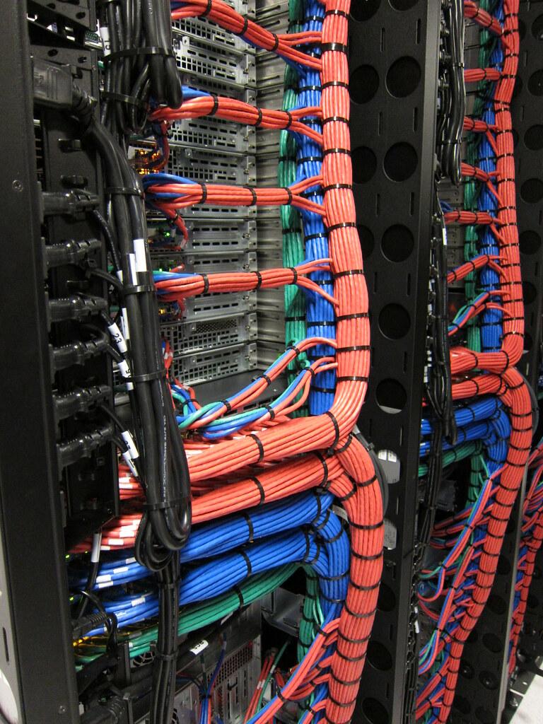 cabled server rack cabled server rack softlayer flickr rh flickr com Server Rack Cable Management Best Practices Server Rack Diagram