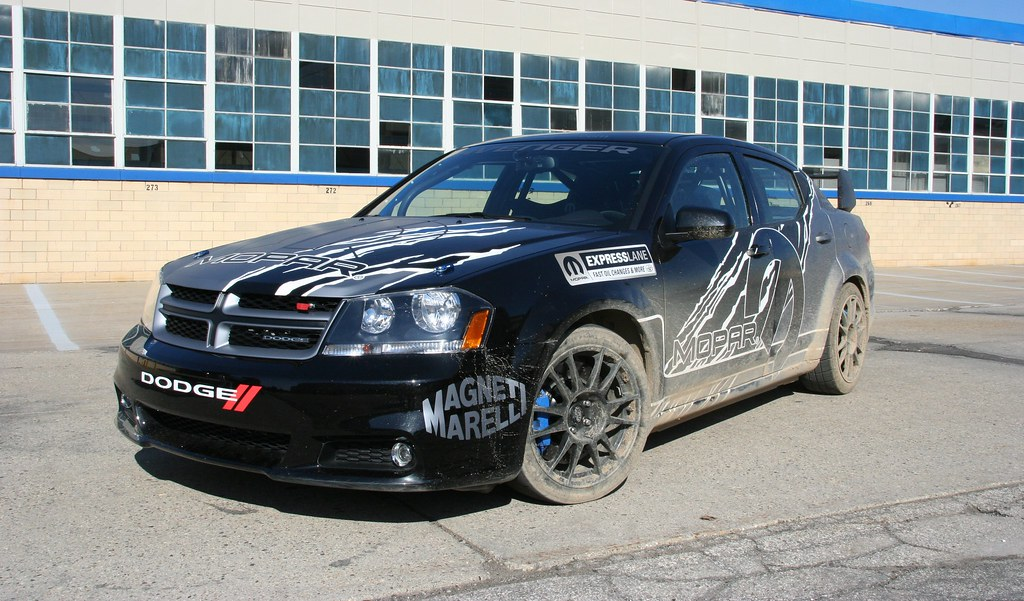 Dodge Avenger Rally Car Fiat Chrysler Automobiles Corporate Flickr