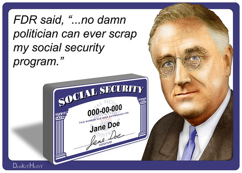 FDR on Social Security | by DonkeyHotey