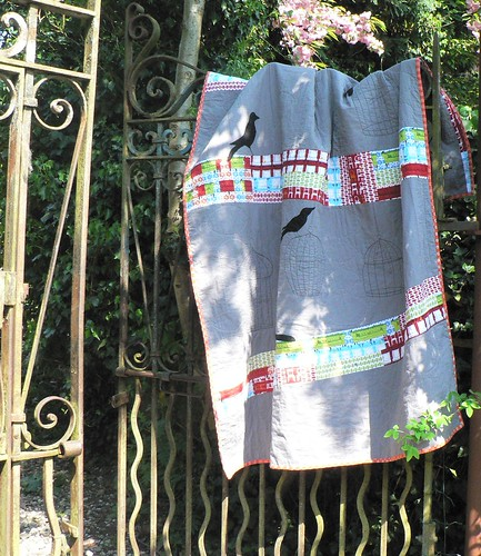 Making Amends {Birds & Empty Cages Quilt} | by {Leila} Where Orchids Grow