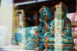 window buddhas | by What is in us