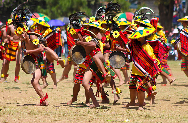 Warriors Dance from Panagbenga Festival in Baguio City