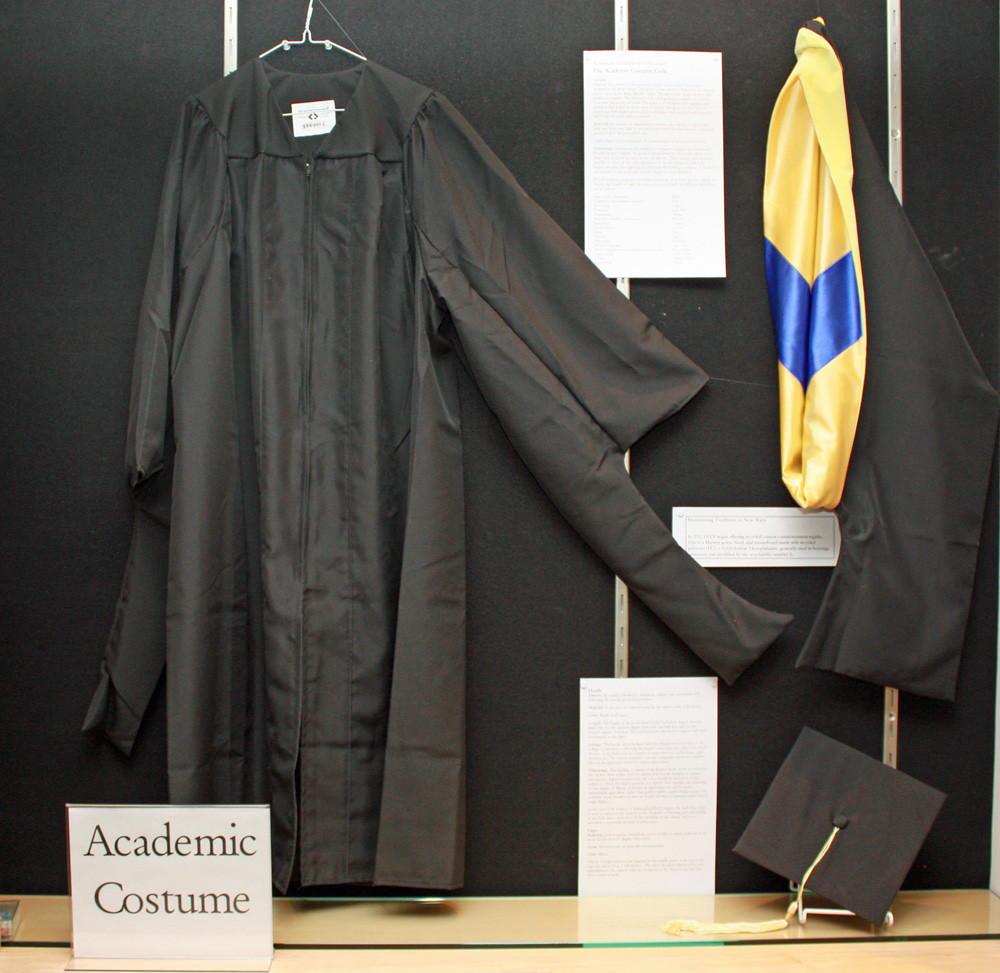 Academic Costume: cap, gown, and hood | UCCS Kraemer Family Library ...