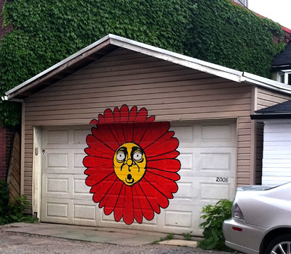 Sunflower garage hidden behind vaughan just south of st for Garage saint just
