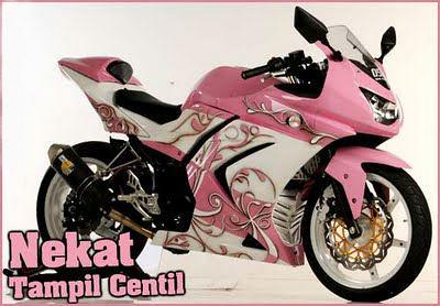 Pink Kawasaki Ninja 250r Custom Motorcycle