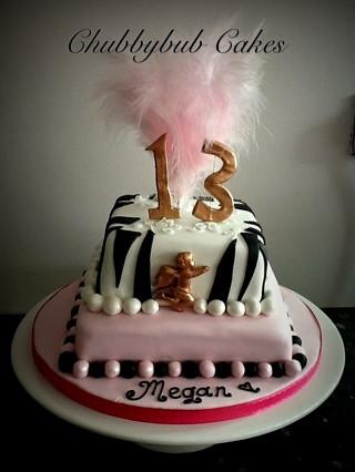 Girls 13th birthday cake Lisa Jane Fothergill Flickr