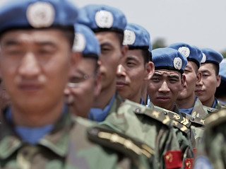 Chinese Engineers Join Peacekeeping Force in Darfur | by United Nations Photo