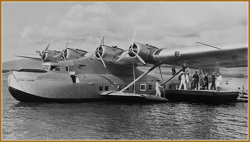 "New Engine Cost >> China Clipper in Hawaii | ""Pan Am's China Clipper prepares f… 
