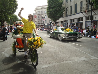 Portland Pedicab & U of O Ducks | by portlandpedalworks