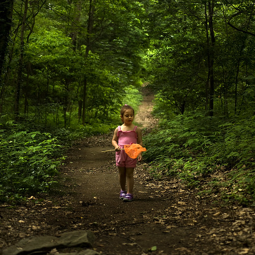Catching Butterflies In Her Magical Forrest... | by TIO...
