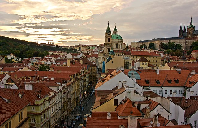 The colorful city of Prague