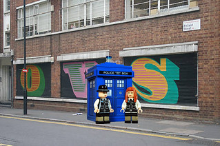Tardis in London 2 | by Fine Clonier