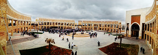 The New Library Square in my University | by abu hamza :)