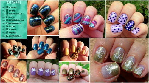 Desafio das 31 Unhas - Estampas | by Leticia_Gomez