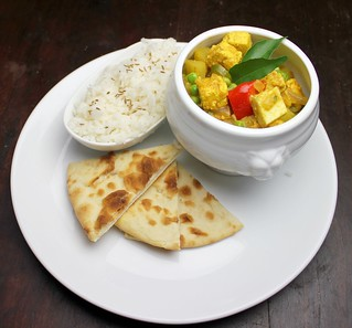 pea and paneer curry (aloo mattar paneer) | by SeppySills