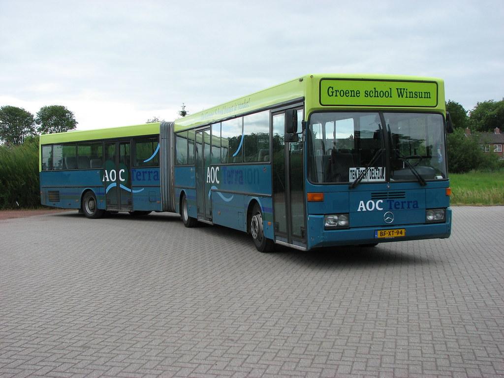 Aoc Terra Groningen : Aoc gelede bus 9026 winsum gr. aoc terra schoolbus ex cou2026 flickr