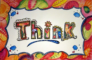 Think Poster | by marciadotcom