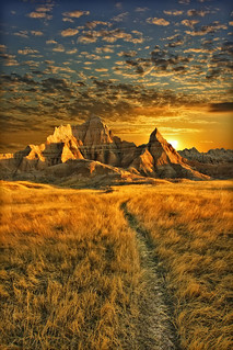 amazing badlands sunrise - badlands national park, south dakota | by Dan Anderson.