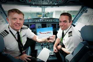 Our pilots on today's biofuel flights | by Jetstar Airways