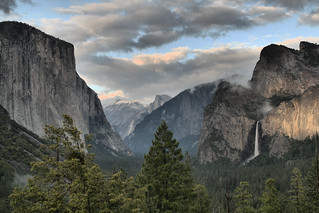 "Yosemite from ""Tunnel View"" 