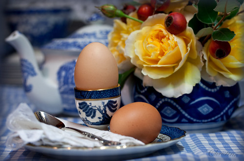 Eggs for Breakfast | by *christine**